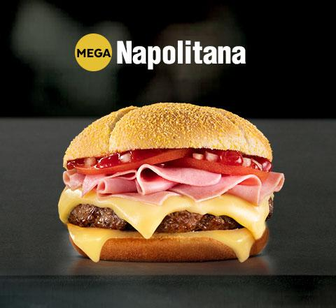 Mega XL Napolitana Mostaza