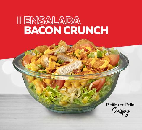 Ensalada Bacon Crispy