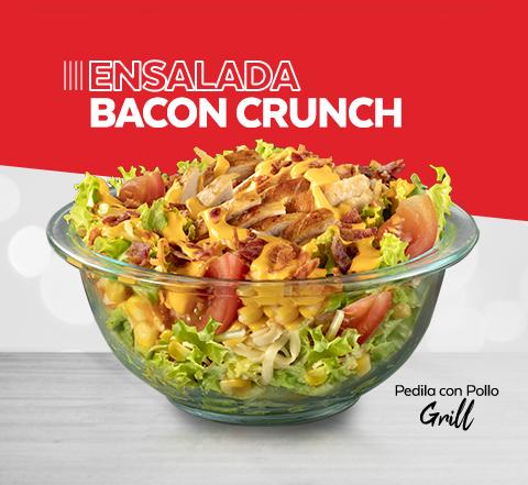 Ensalada Bacon Crunch Grill