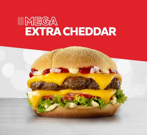 Mega Extra Cheddar