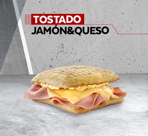 Tostado Jamón & Queso